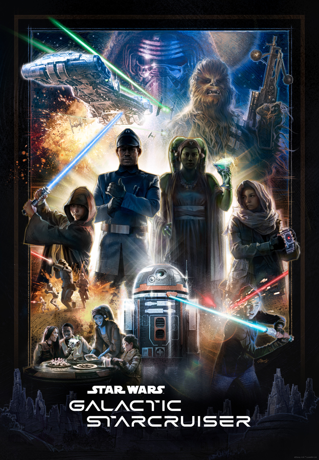 First Look at the Poster for Star Wars: Galactic Starcruiser 2