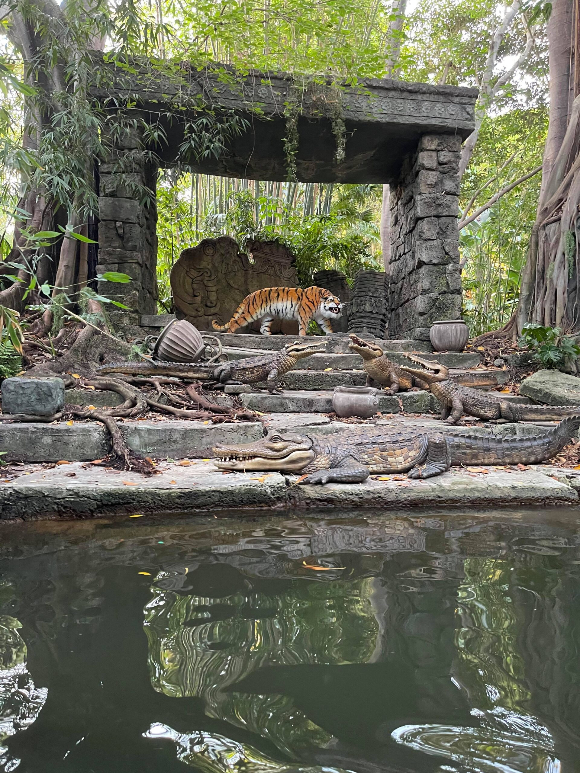 Take a voyage on the all new Jungle Cruise in Disneyland 6