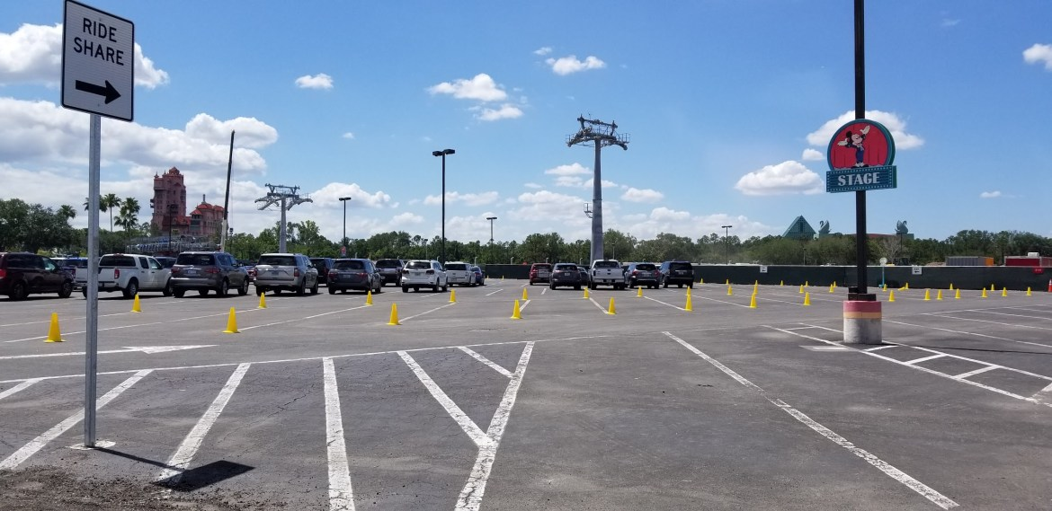 Trams returning as Disney World hires Parking Operations Cast Members