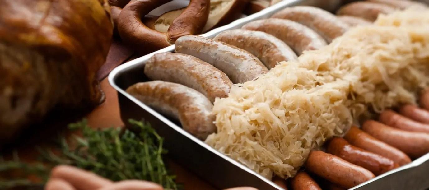 Das All-you-can-eat-Buffet kehrt ins Biergarten-Restaurant im Deutschen Pavillon 2 zurück