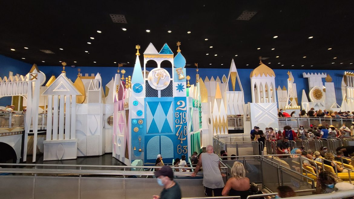 It's a small world clock in the Magic Kingdom gets a makeover