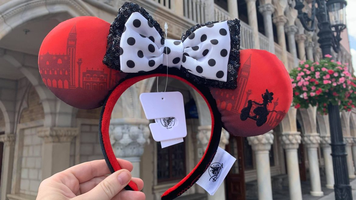 The New Italy Minnie Ears Are Bellissimo!