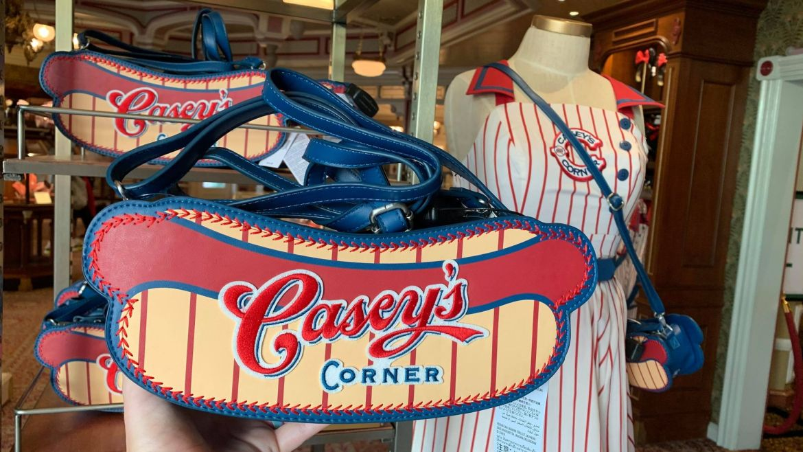 Take me out to the Ball Game with this new Casey's Corner Hot Dog Purse!