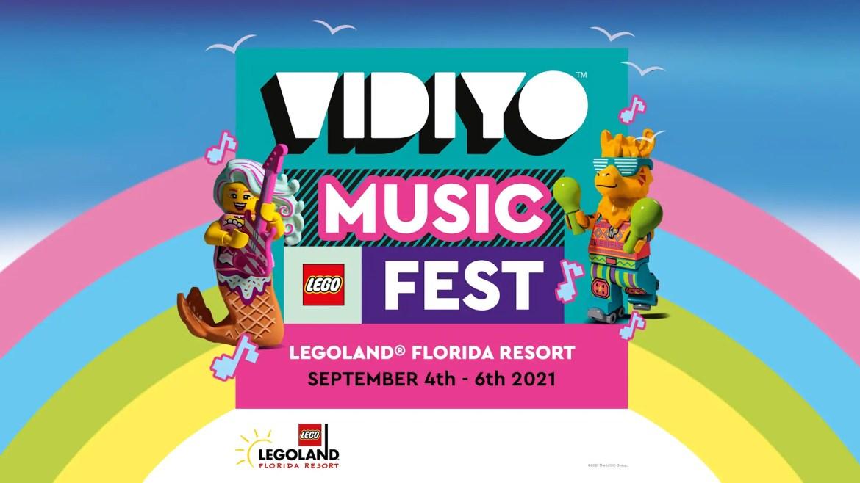 LEGOLAND Florida Resort Announces VIDIYO Music Fest