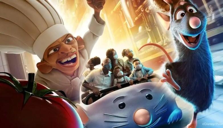 Disney Vacation Club Members will get Sneek Peek of Remy's Ratatouille Adventure 1