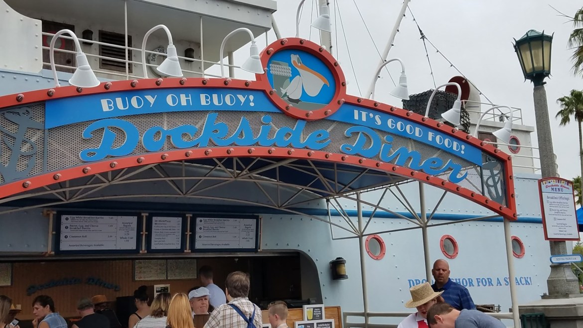 Dockside Diner reopening on Aug 22nd with an all-new menu