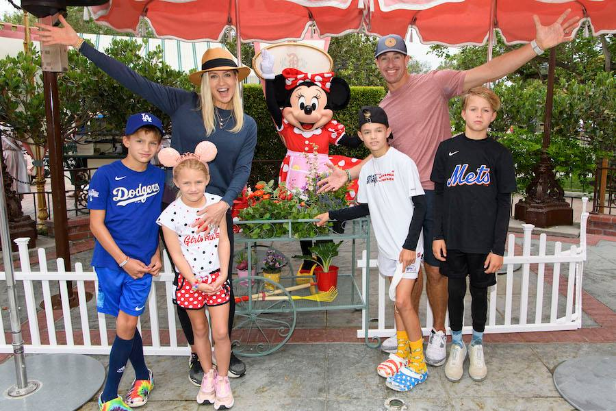 Drew Brees Celebrates His Daughter's Birthday at Disneyland