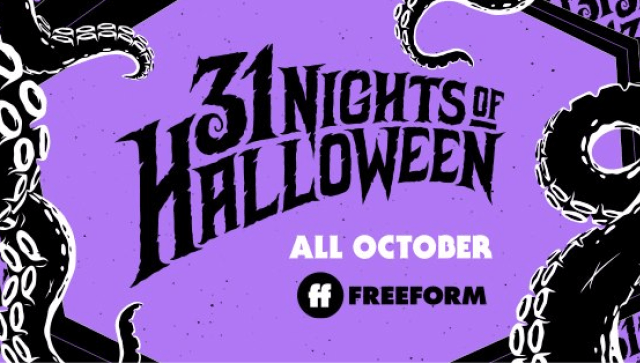 31 Nights of Halloween Logo on Freeform