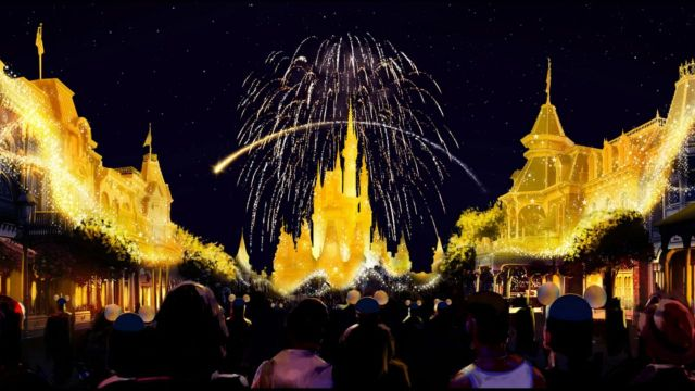 You can see 2 different fireworks in one night at the Magic Kingdom 2