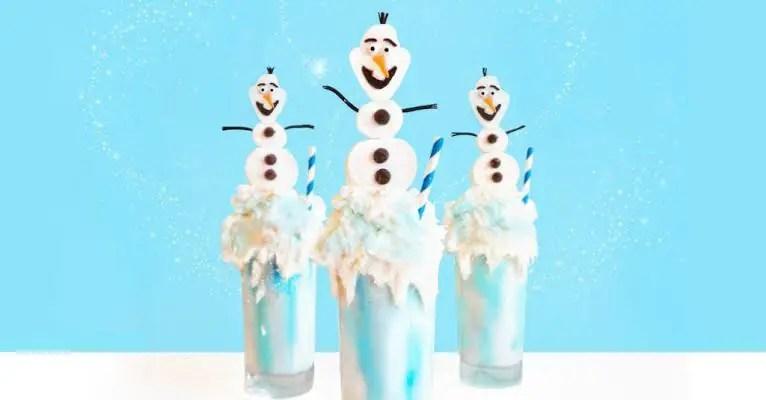 Delicious Olaf Milkshake Worth Melting For This Summer!