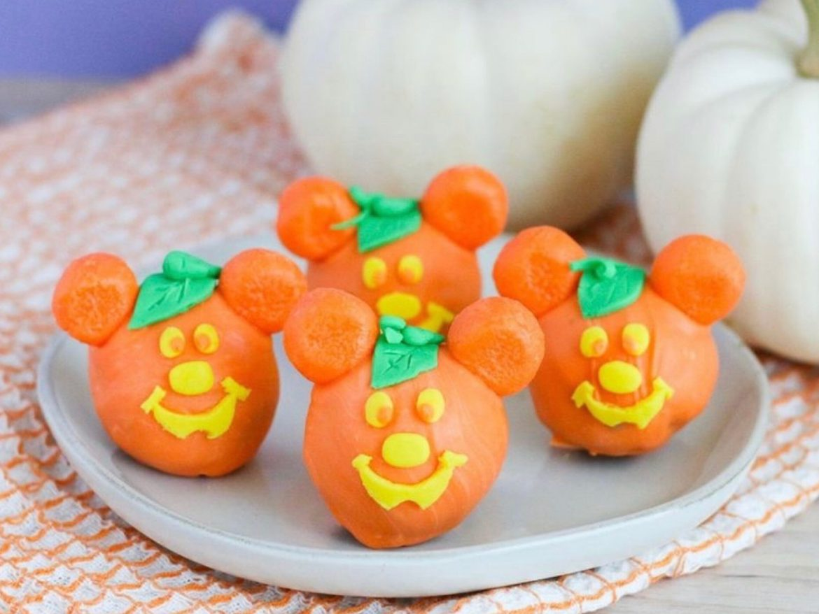 These Adorable Mickey Pumpkin Truffles Are The Perfect Halloween Treat!