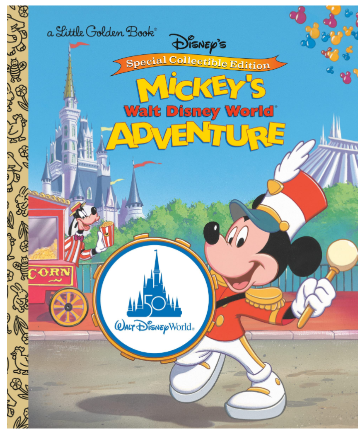 Mickey's Walt Disney World Adventure Little Golden Book Available for Preorder