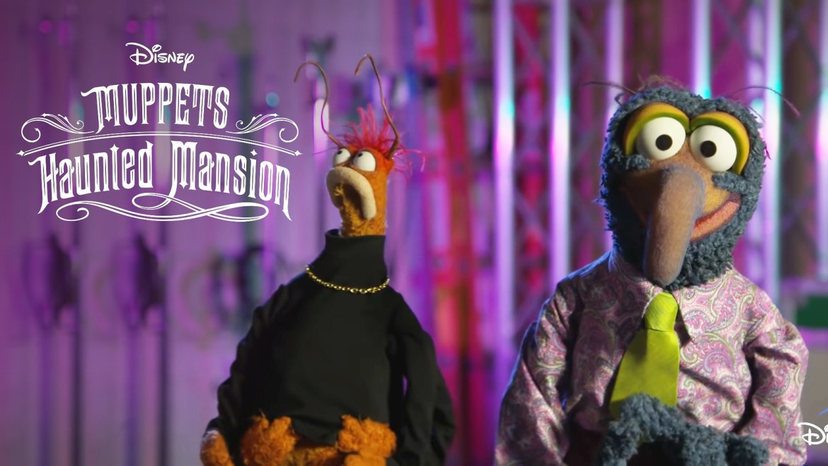 A New 'Haunted Mansion' Muppets Special is Coming to Disney+ This Fall