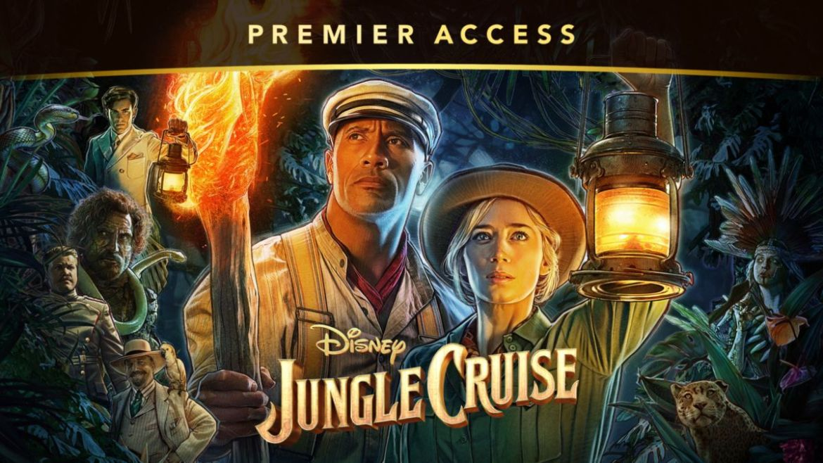Disney's 'Jungle Cruise' Sails into #1 Spot at the Box Office During Opening Weekend