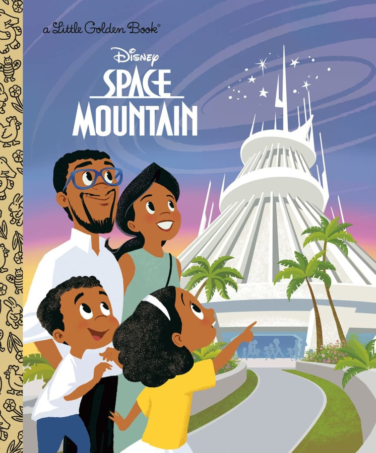 Space Mountain Little Golden Book is Now Available for Preorder