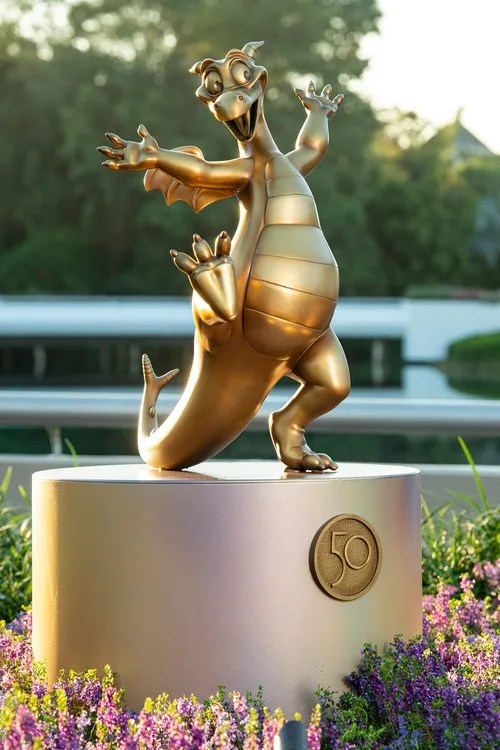 New Disney Fab 50 Statues debut in Epcot 10