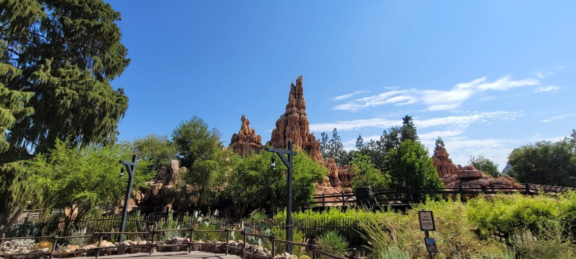 Big Thunder Mountain is now closed for refurbishment