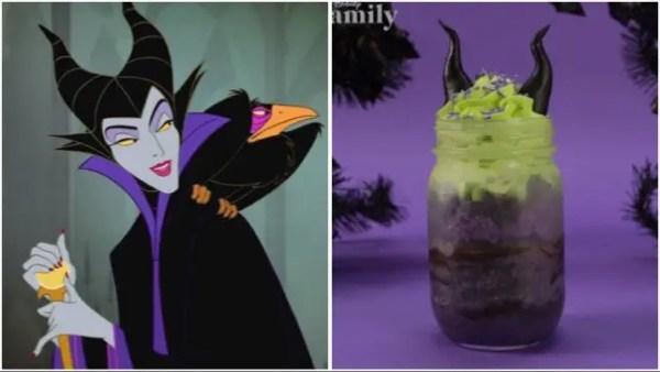 Maleficent cake jar