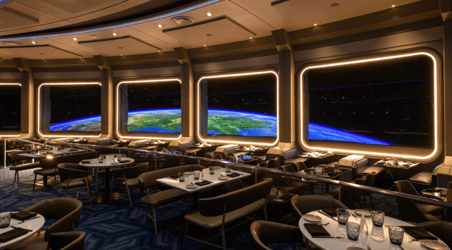 We have lift-off! Space 220 Restaurant in Epcot is now open! 3