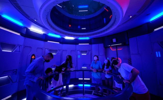 We have lift-off! Space 220 Restaurant in Epcot is now open! 4