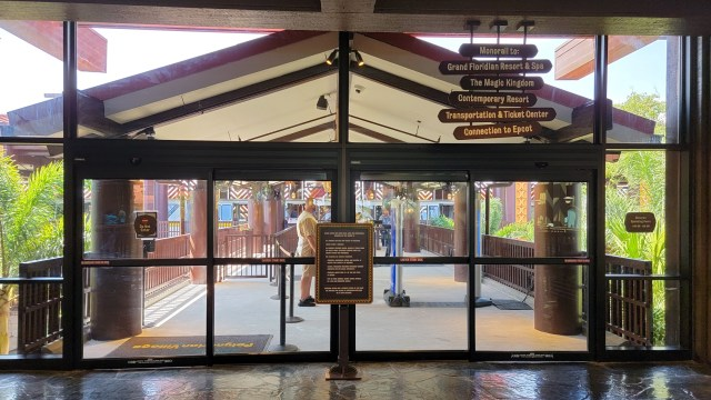 Disney's Polynesian Resort Monorail Station is now in operation 5