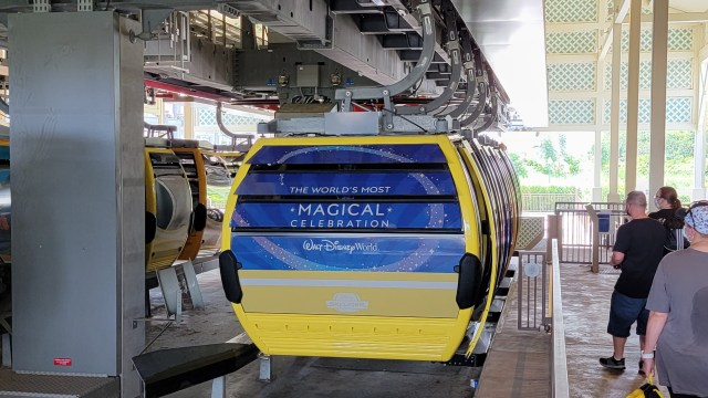 Disney's Skyliner just received a 50th Anniversary Makeover 2