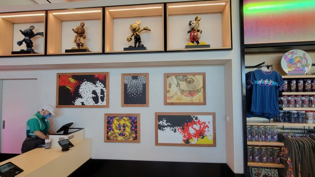 Look inside the new Creations Shop in Epcot 2