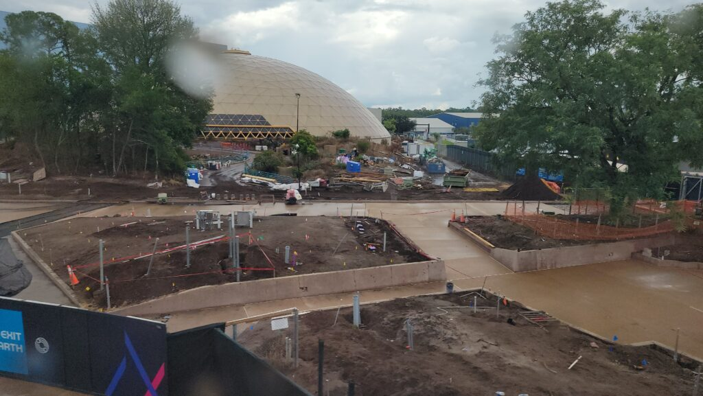 New Construction Photos of Moana Journey of Water & Guardians of the Galaxy: Cosmic Rewind 3