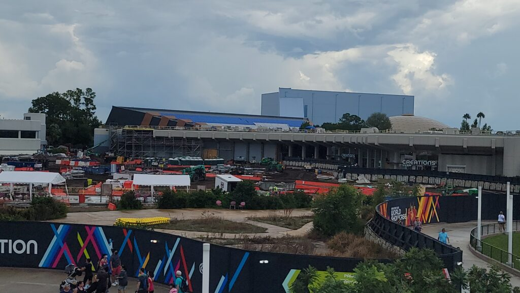New Construction Photos of Moana Journey of Water & Guardians of the Galaxy: Cosmic Rewind 8