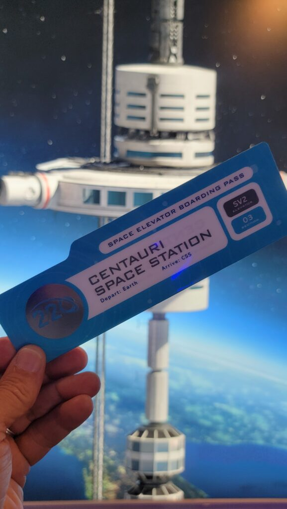 Dining Review of Epcot's Space 220 Restaurant 2