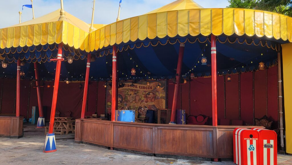 Storybook Circus tent refurbishment is now complete for 50th Anniversary 1