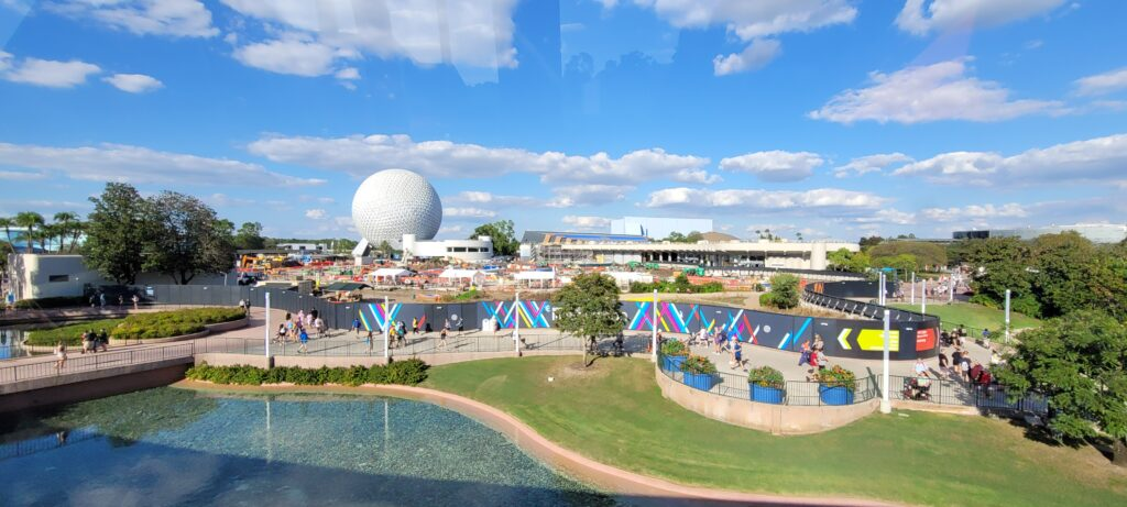 New Aerial look at the Construction around Epcot 4