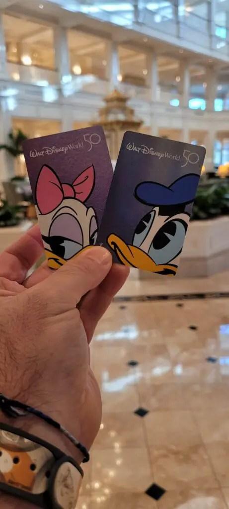 Disney World 50th Anniversary Room keys now available at select Disney Resorts 5