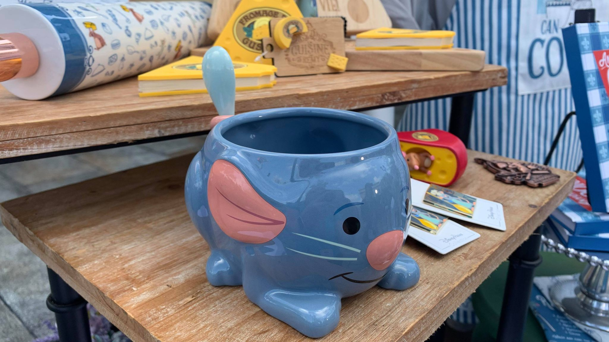 First look at the new Remy's Ratatouille Adventure line of merch coming soon! 8