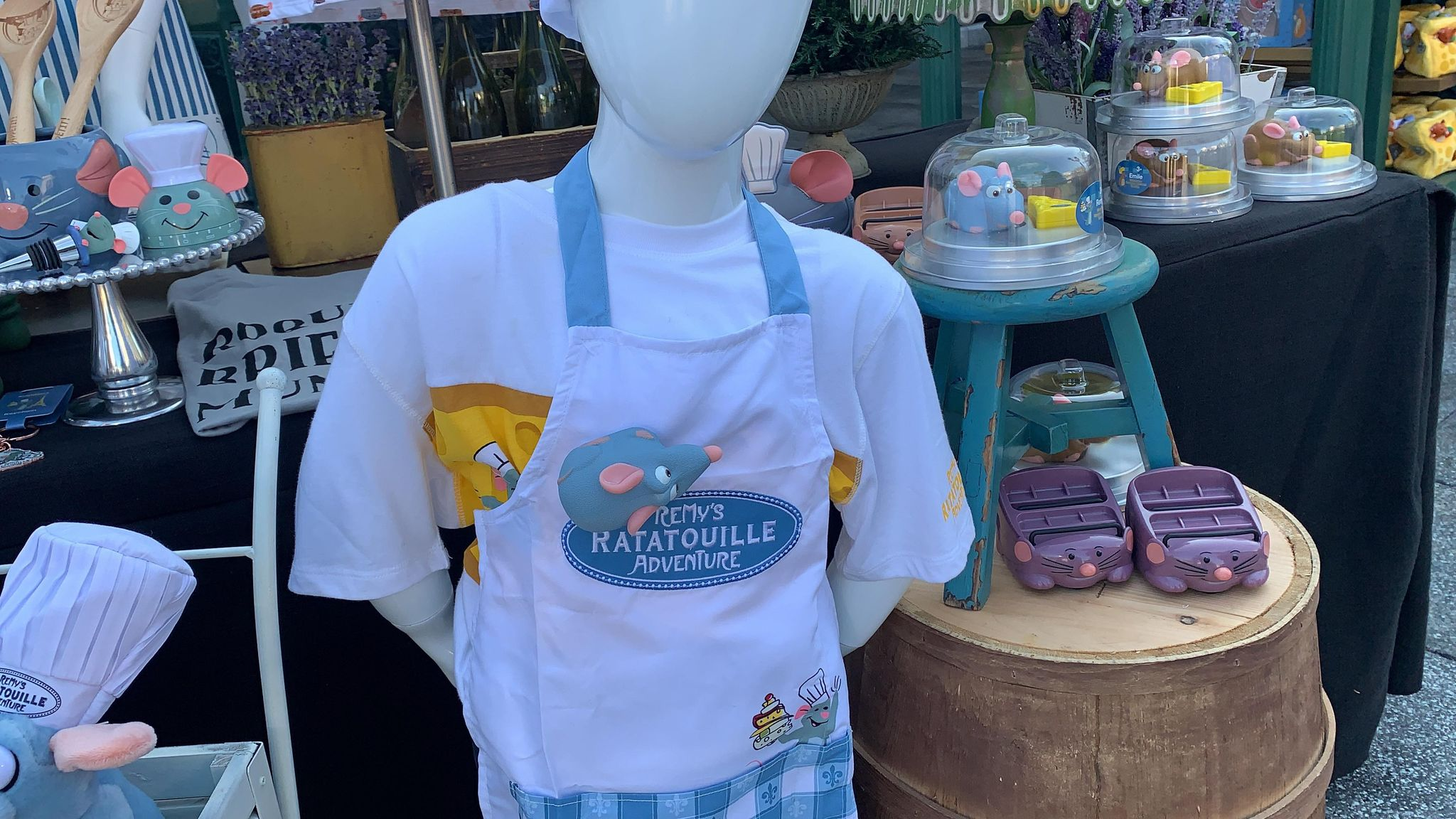 First look at the new Remy's Ratatouille Adventure line of merch coming soon! 2