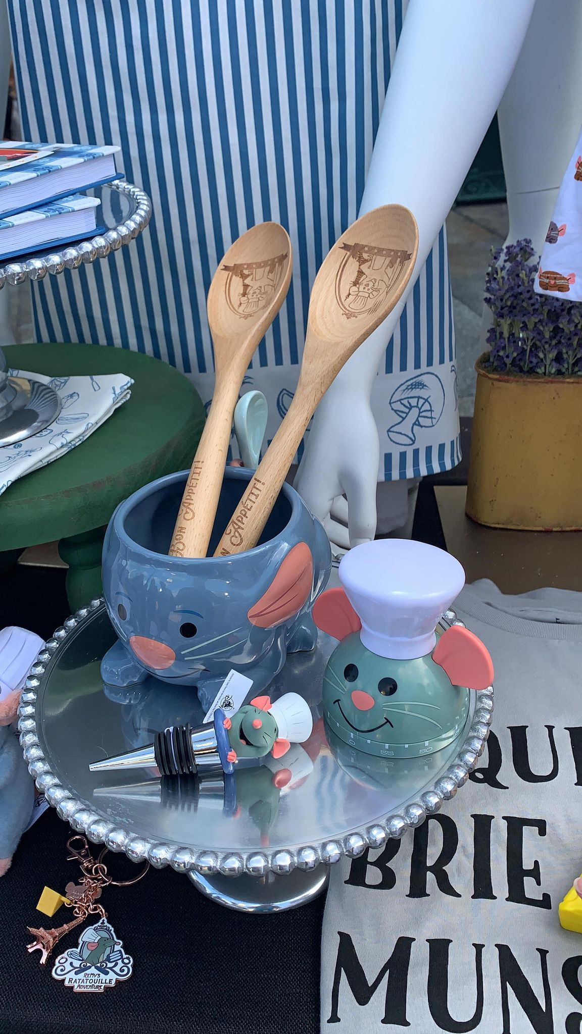 First look at the new Remy's Ratatouille Adventure line of merch coming soon! 19