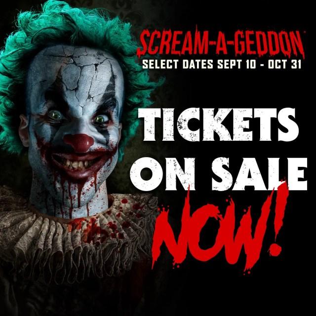 SCREAM-A-GEDDON Be Afraid... Be Very Afraid! Fun for the Whole Family 2