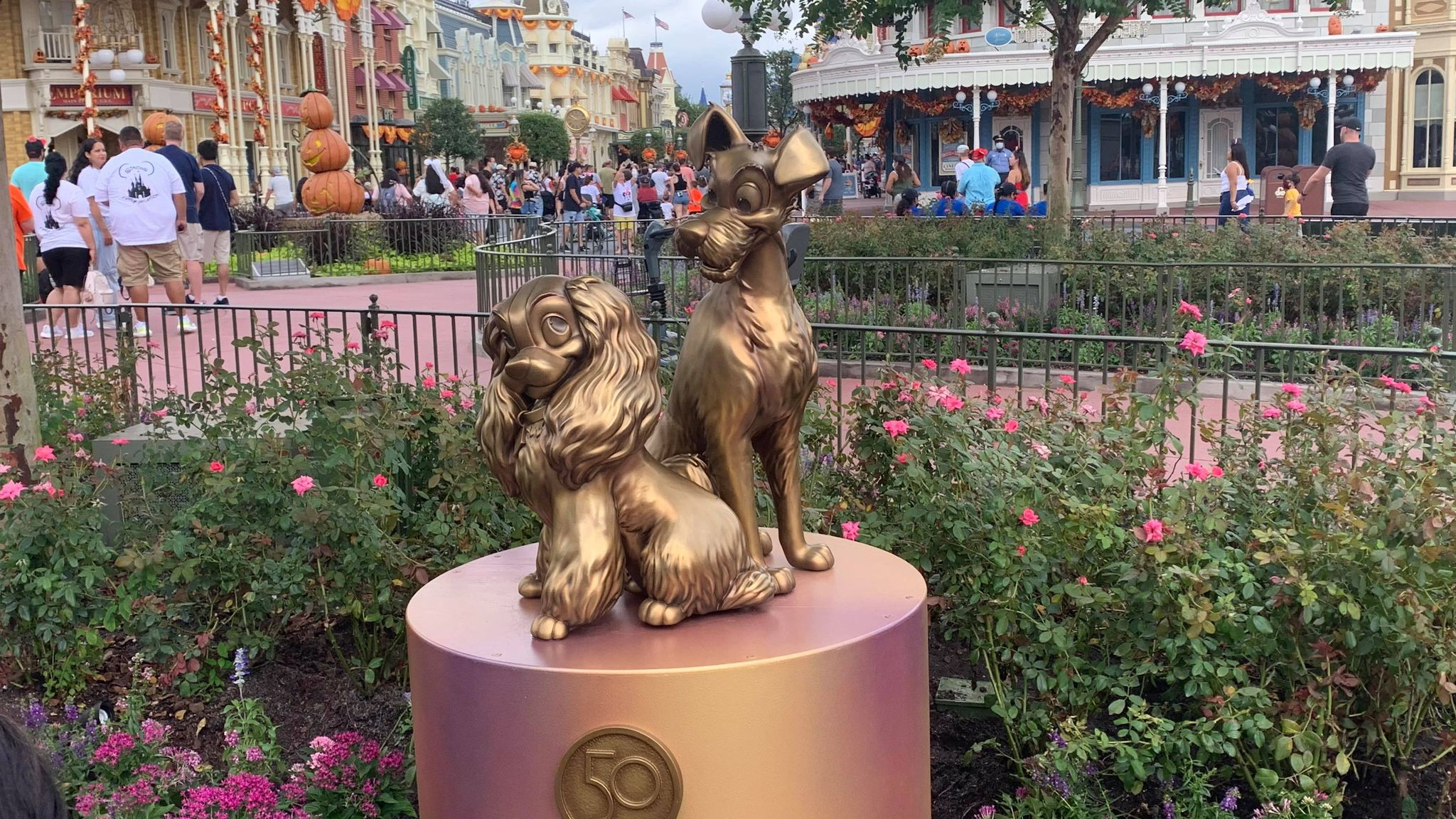 First Look: Disney Fab 50 statues now on display in the Magic Kingdom 28