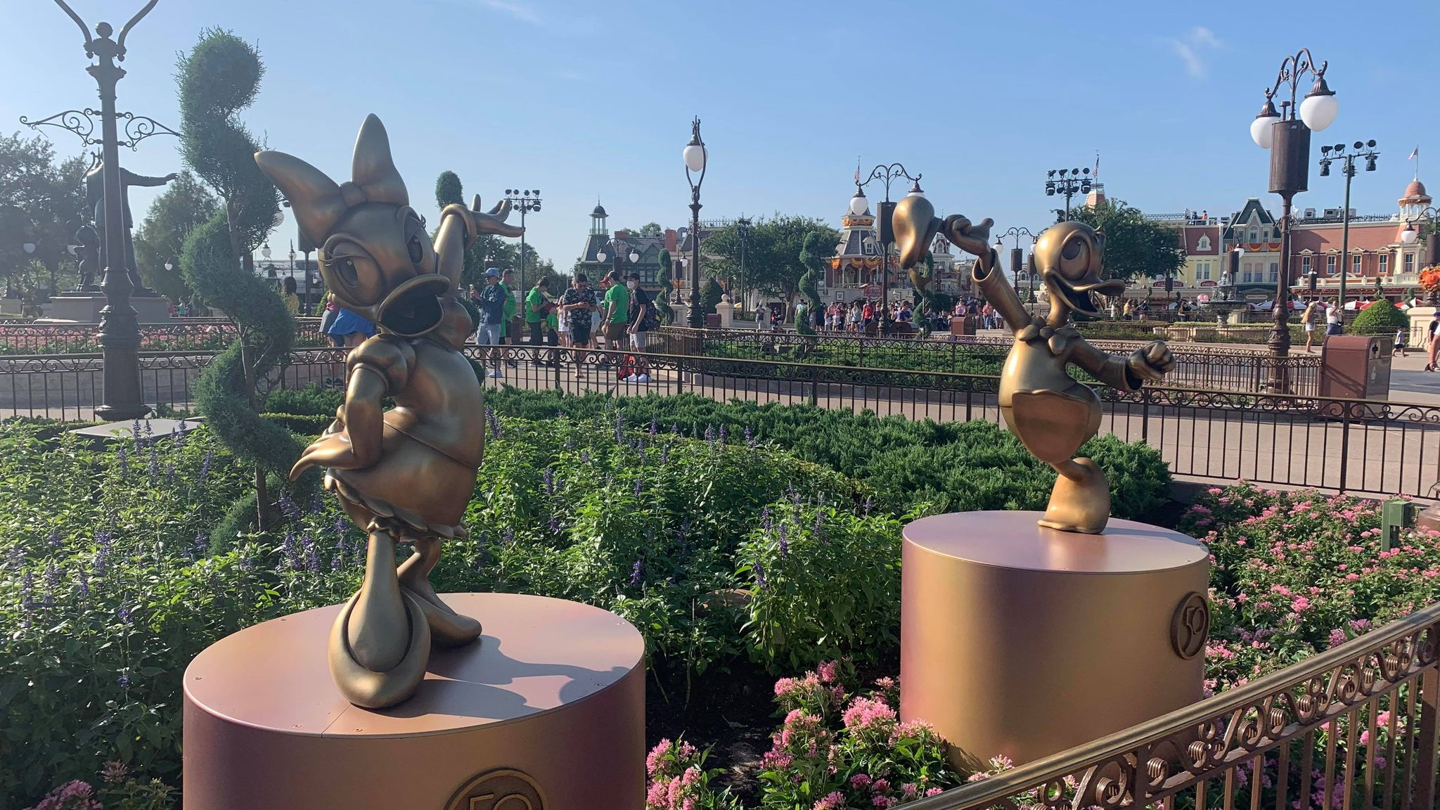 First Look: Disney Fab 50 statues now on display in the Magic Kingdom 19