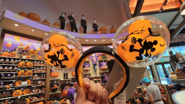 Mickey Balloon Halloween Ears