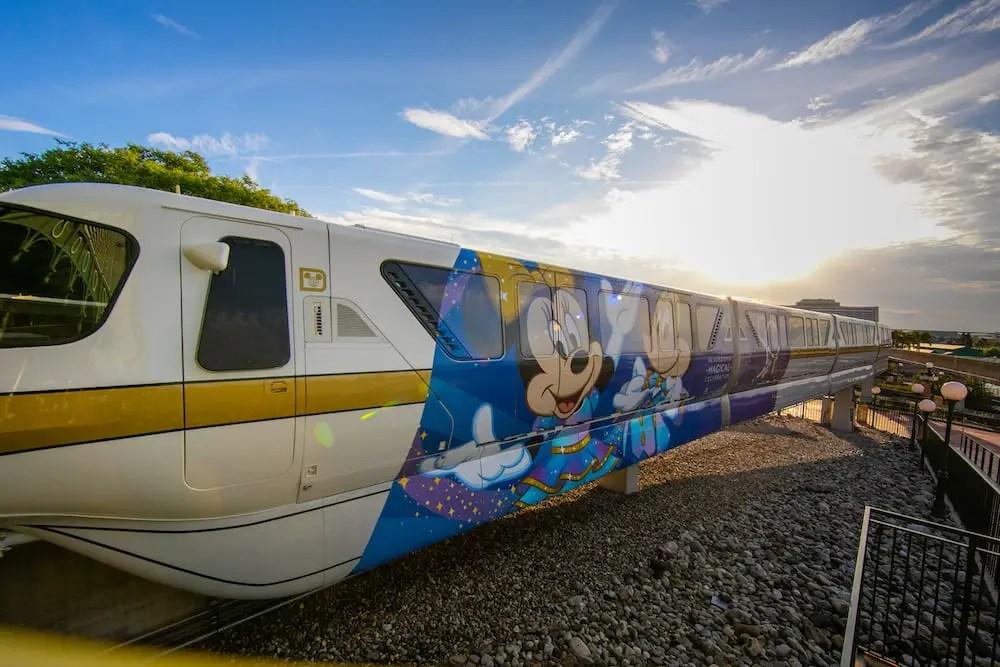 First Look: Disney World 50th Anniversary Monorail 7