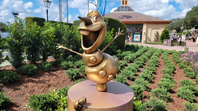 New Disney Fab 50 Statues debut in Epcot 4