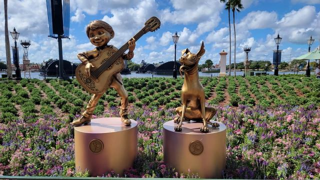 New Disney Fab 50 Statues debut in Epcot 6