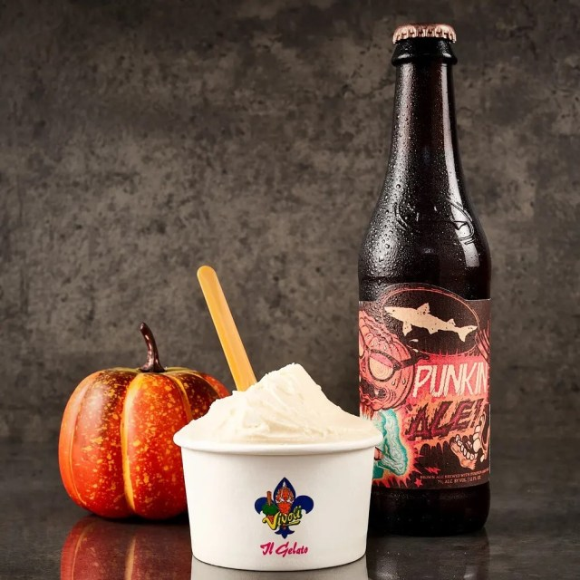 A new 21 and older Pumpkin Beer Gelato is now available in Disney Springs 2