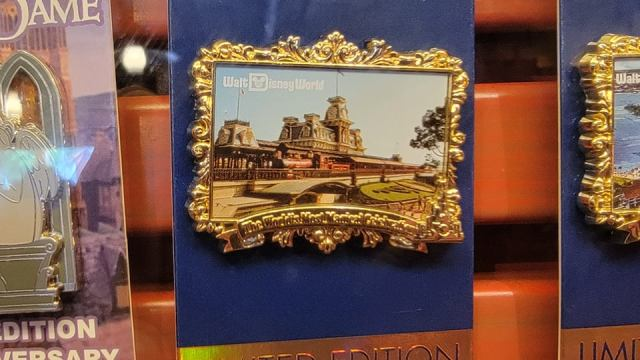 Gorgeous New Walt Disney World 50th Anniversary Pins 1