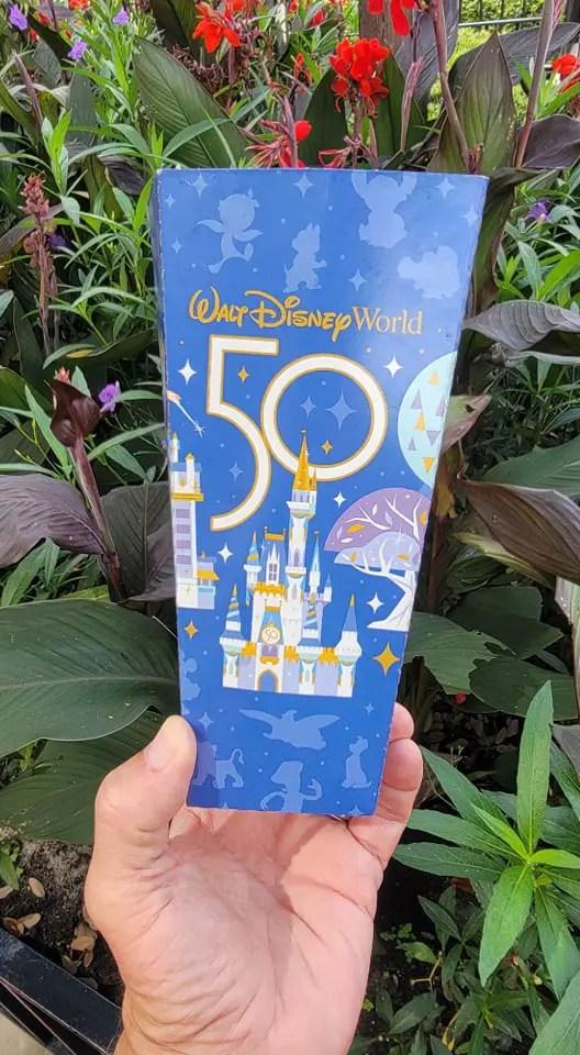 50th Anniversary Popcorn Box Debuts in the Magic Kingdom 3