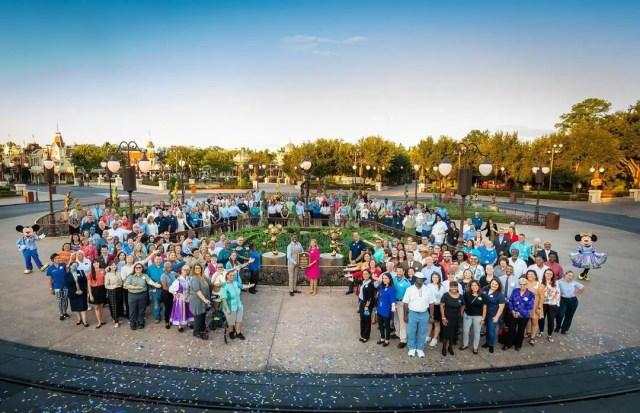 Disney dedicates Mickey & Minnie Fab 50 statues to Walt Disney World Cast Members 3