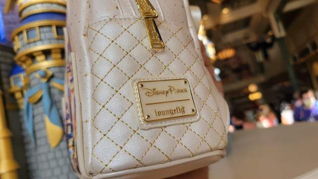 Shimmering New Walt Disney World 50th Anniversary Loungefly 3