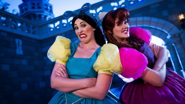 Video: Guest Gives Cinderella's Step Sisters New Shoes 1