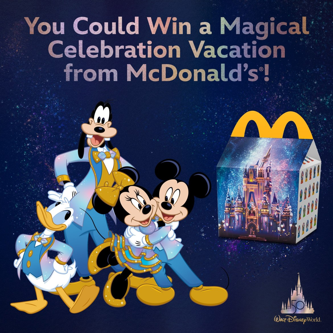 Win a trip to Walt Disney World for the 50th Anniversary from McDonald's!